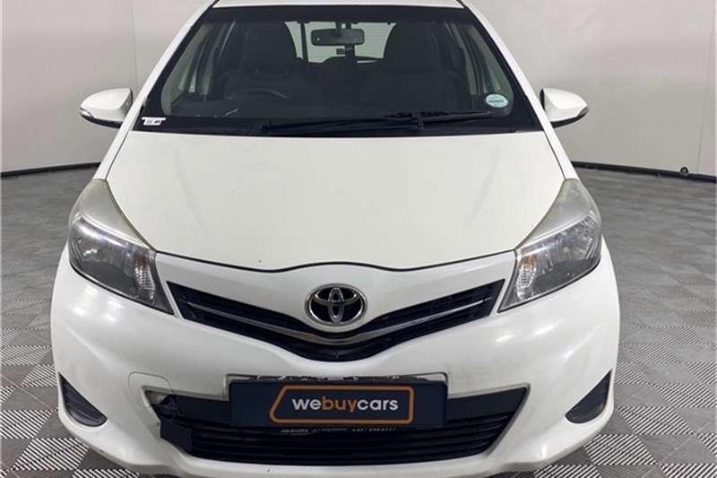 Used 2012 Toyota Yaris 5 door 1.3 XS