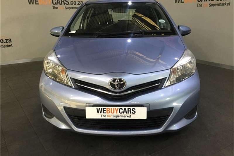 Toyota Yaris 5-door 1.3 XS 2013