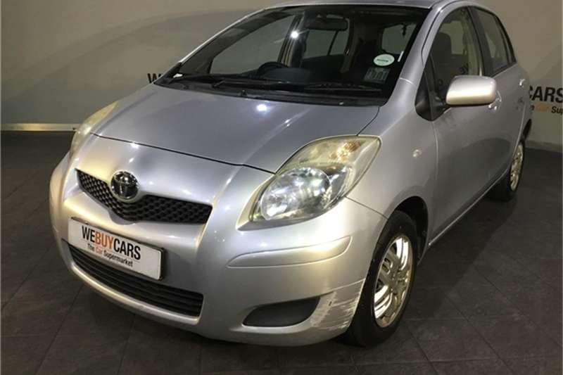Toyota Yaris 5 door T3 Plus 2011
