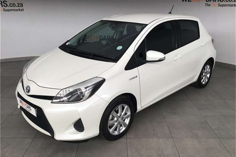 Toyota Yaris 5 door XS HSD 2012