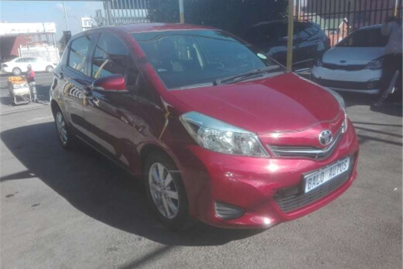 Toyota Yaris 5 door Zen3 Plus 2014