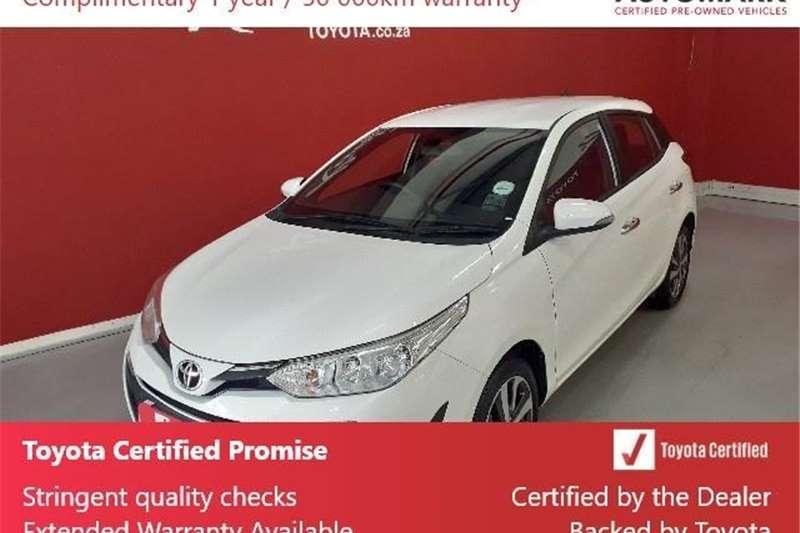 2018 Toyota Yaris hatch YARIS 1.5 XS CVT 5Dr