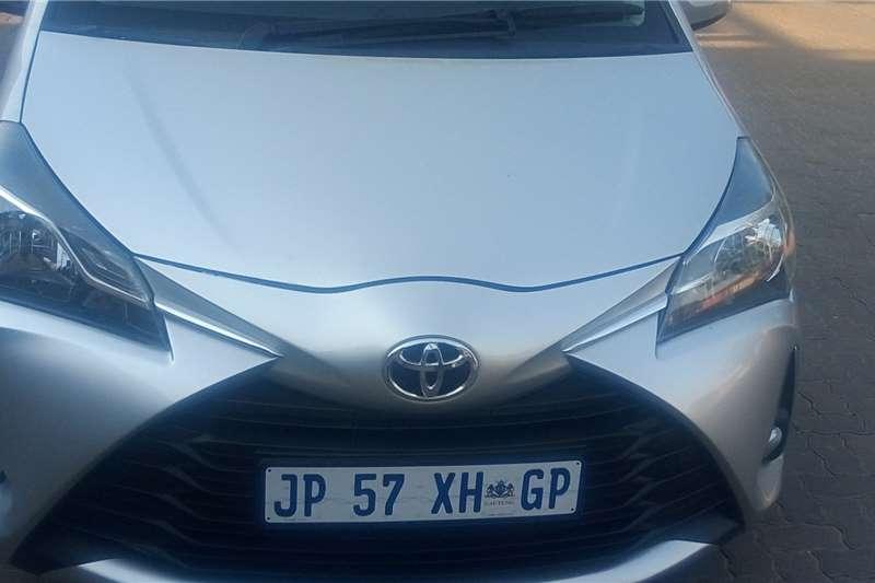 Toyota Yaris Hatch YARIS 1.5 SPORT 5Dr 2017