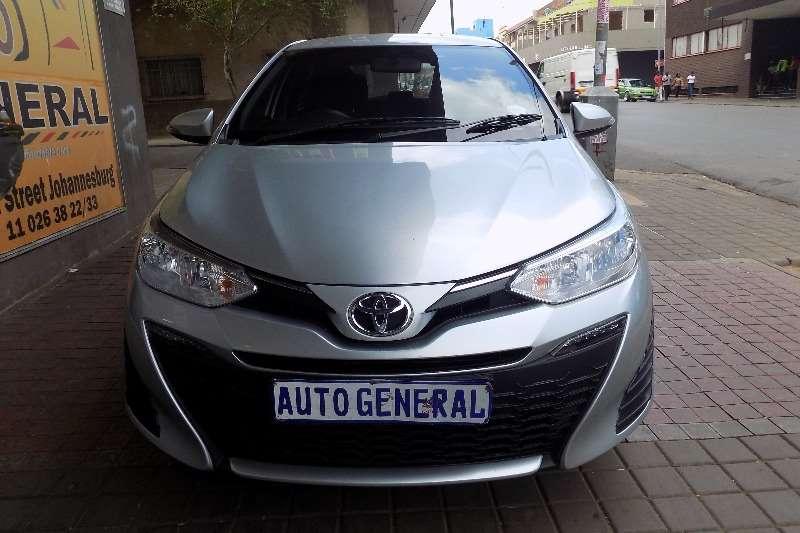 2018 Toyota Yaris 1.3 auto