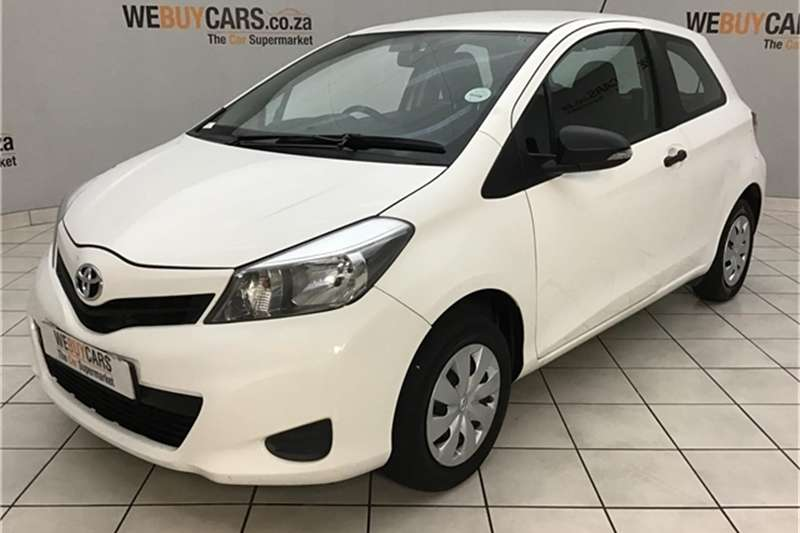 2012 Toyota Yaris 3 door 1.0 Xi