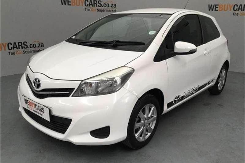 2013 Toyota Yaris 3 door 1.0 XS