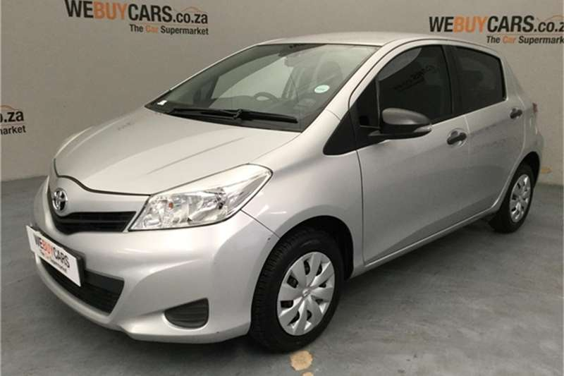 2012 Toyota Yaris 5 door 1.0 XR