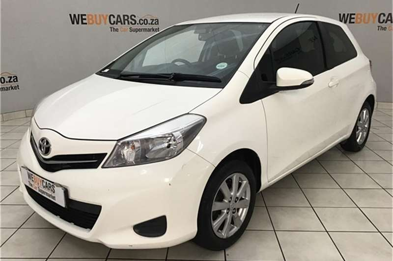 2013 Toyota Yaris 3 door 1.3 XS