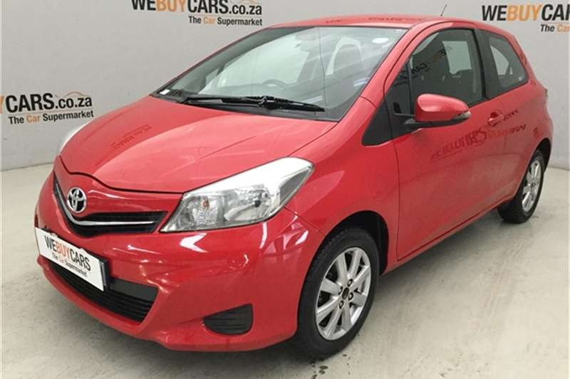 2012 Toyota Yaris 3 door 1.0 XS