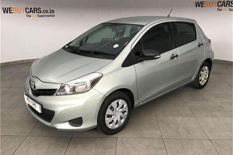 2012 Toyota Yaris 5 door 1.3 Xi