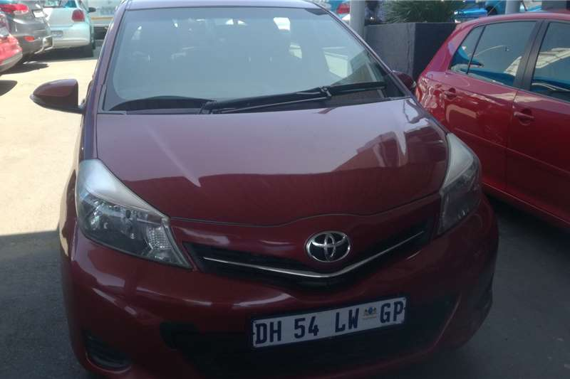 2013 Toyota Yaris 1.3 T3 5 door