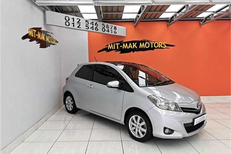 2012 Toyota Yaris 3 door 1.3 XR