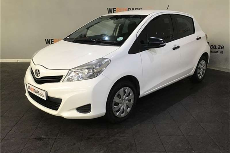 2012 Toyota Yaris 5 door 1.3 Xi