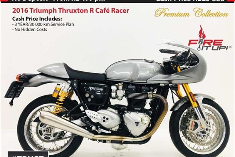 Triumph Thruxton R Café Racer 2016