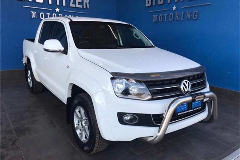 VW Amarok 2.0BiTDI double cab Highline 4Motion auto 2014