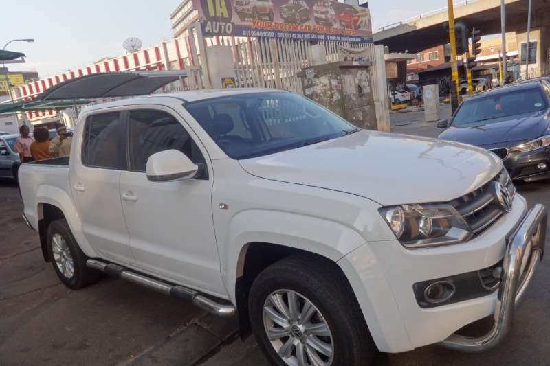 VW Amarok 2.0BiTDI double cab Highline auto 2014