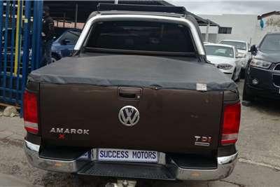 VW Amarok Double Cab AMAROK 3.0 TDi HIGHLINE 165KW 4MOT A/T D/C P/U 2013