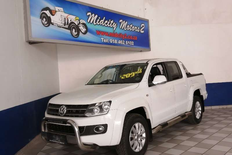 2013 VW Amarok 2.0BiTDI double cab Highline auto