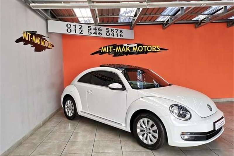 VW Beetle 1.2TSI Design 2015