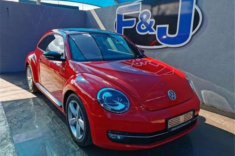 VW Beetle 1.4TSI Sport auto 2012