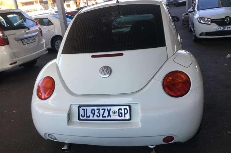 VW Beetle 2.0 Highline automatic 2002