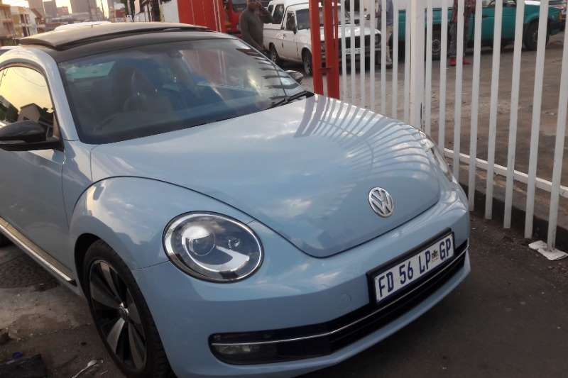 VW Beetle 2.0 Highline automatic 2013