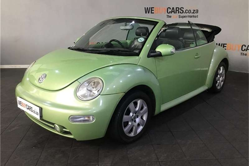 VW Beetle cabriolet 2.0 2003