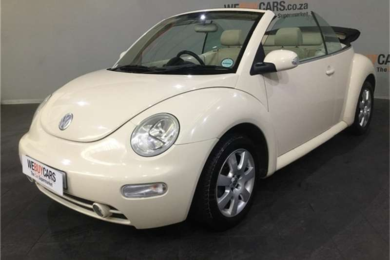 VW Beetle cabriolet 2.0 2004