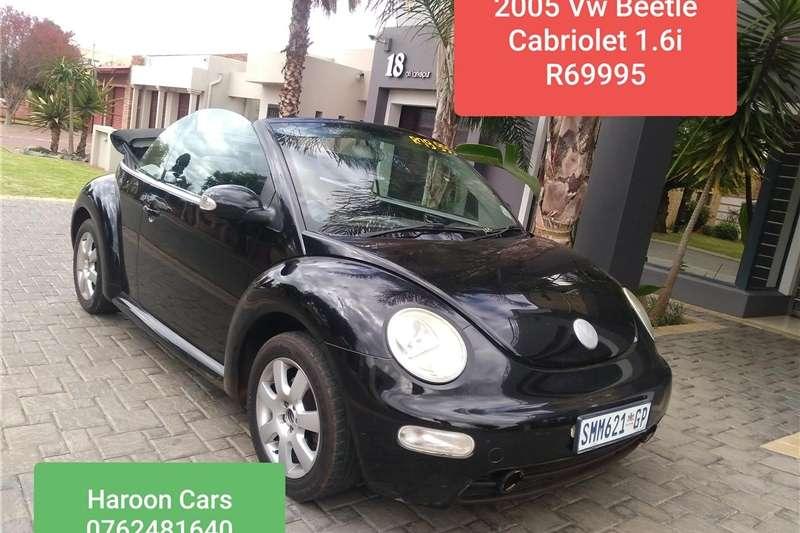 VW Beetle cabriolet 2.0 2005