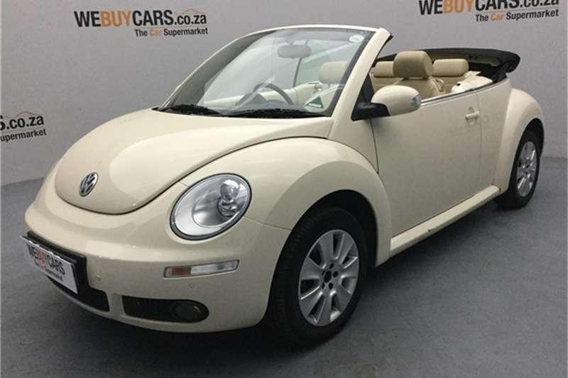2010 VW Beetle cabriolet 2.0