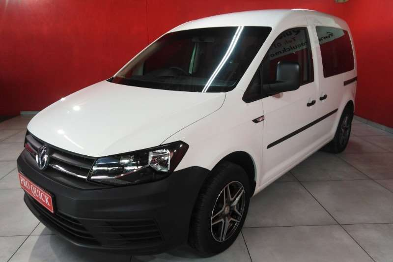 VW Caddy 2.0TDI crew bus 2018