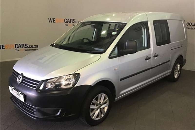 VW Caddy 2.0TDI Maxi crew bus 2013
