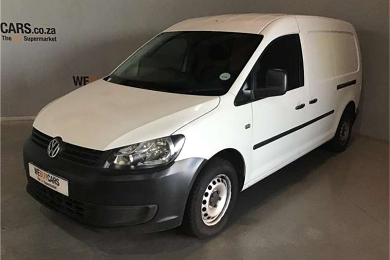 VW Caddy 2.0TDI Maxi panel van 2013