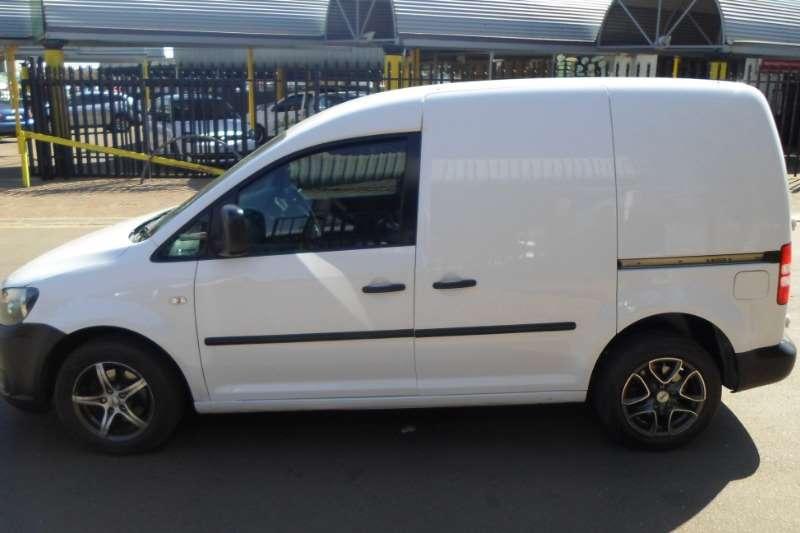 VW Caddy 2.0TDI panel van 2012