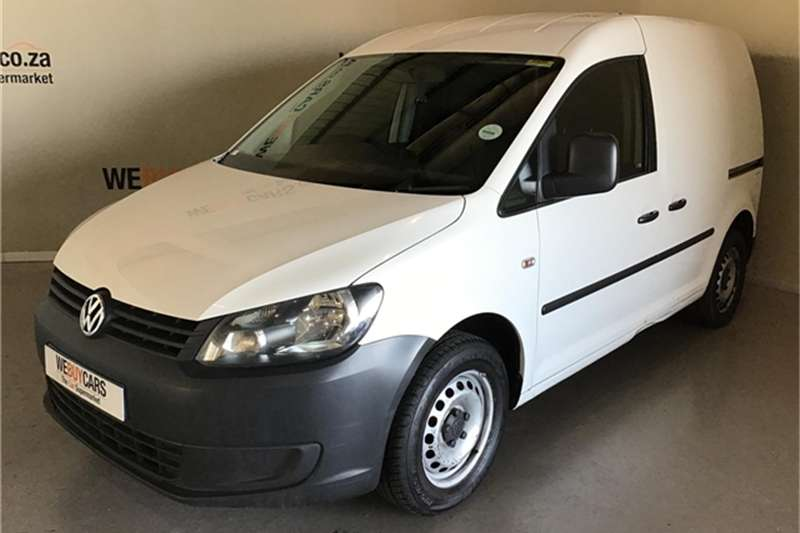 VW Caddy 2.0TDI panel van 2014