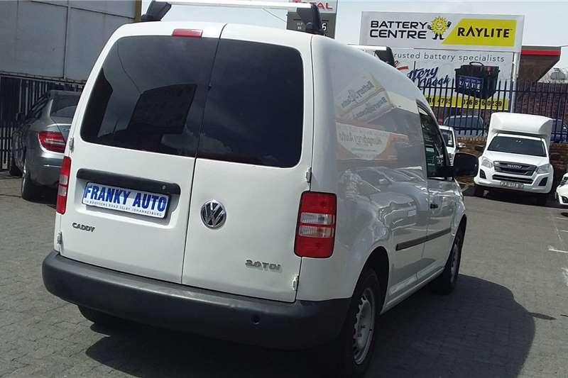 VW Caddy 2.0TDI panel van 2015