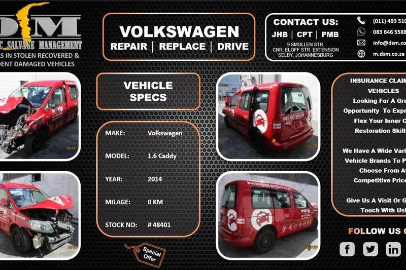 Used 2014 VW Caddy