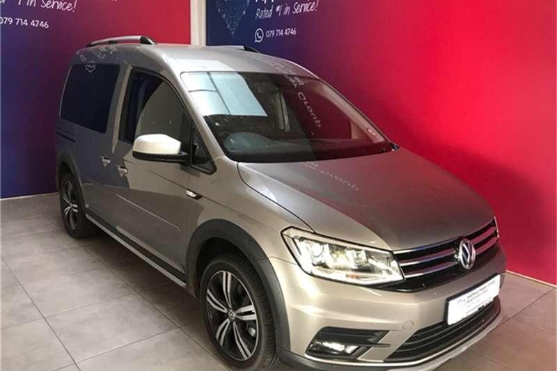 VW Caddy Alltrack 2.0TDI auto 2019