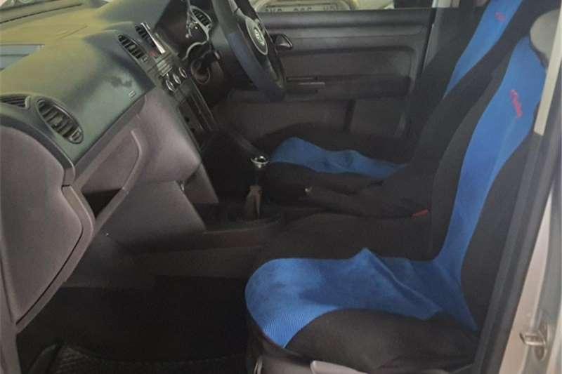 2012 VW Caddy crew bus