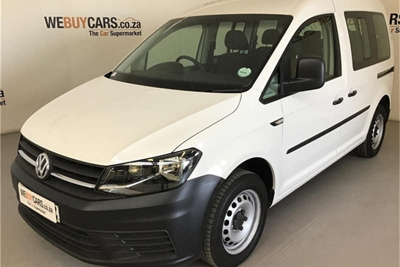2018 VW Caddy 1.6 crew bus