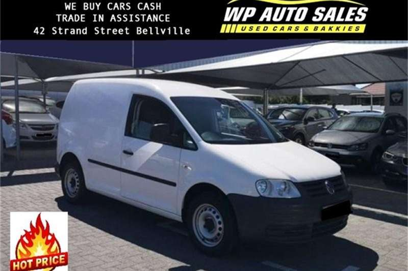 2010 VW Caddy 1.6 panel van