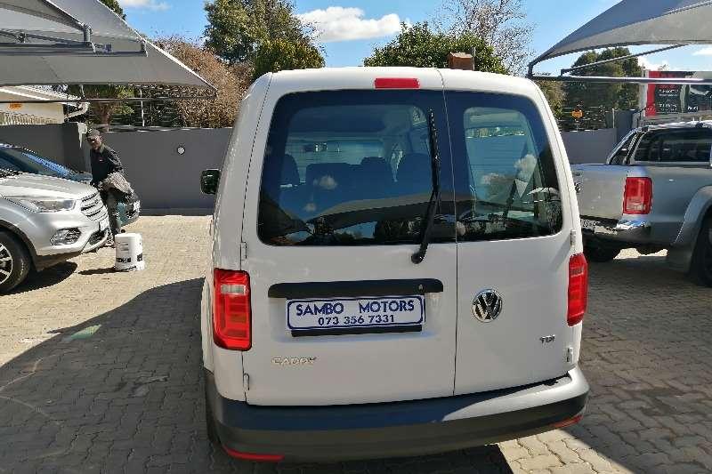 2018 VW Caddy Maxi crew bus
