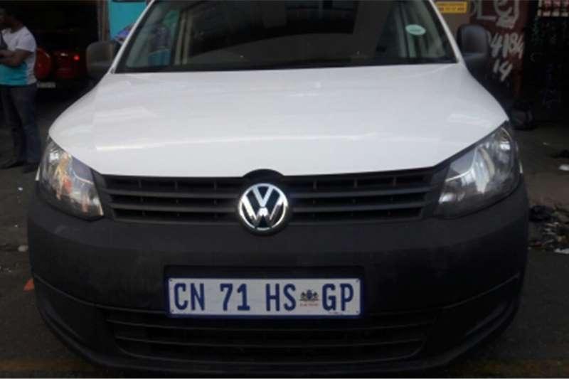 VW Caddy Maxi Panel Van 2013