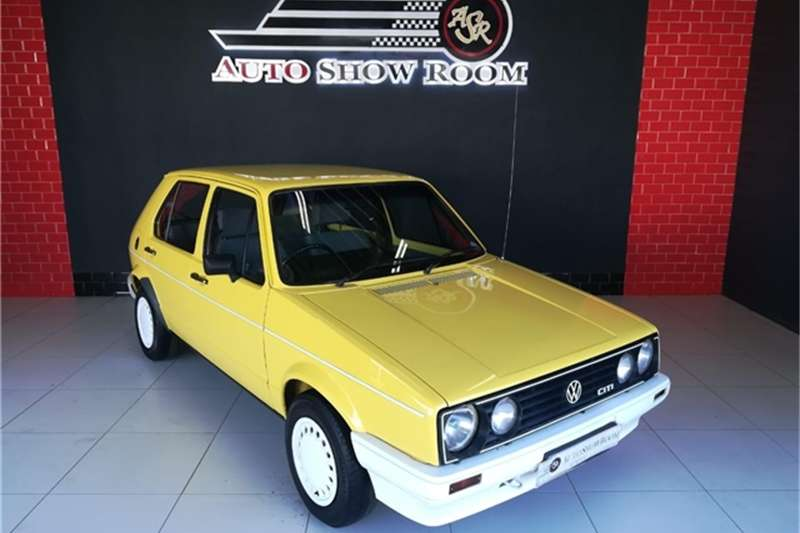 VW Citi GOLF 1989