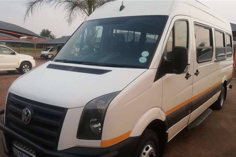 VW Crafter V8 Petrol Engine 2011
