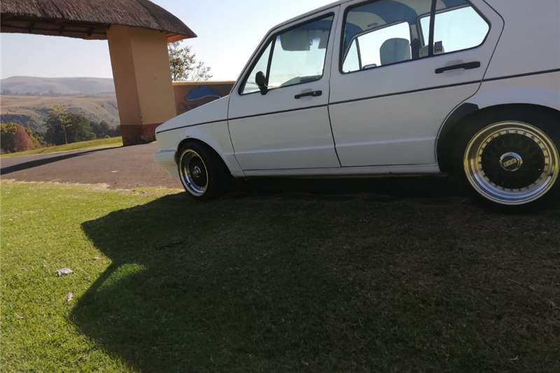 VW Golf 1 with 2L16V engine swop 1996