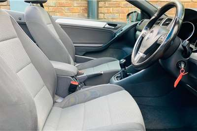 Used 2012 VW Golf cabriolet 1.4TSI Comfortline