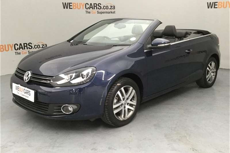 VW Golf cabriolet 1.4TSI Comfortline auto 2012