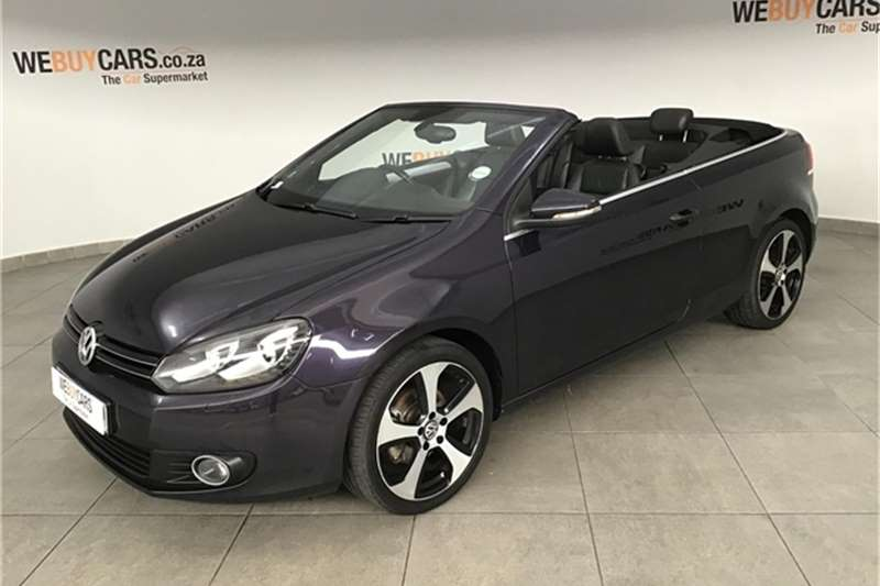 VW Golf cabriolet 1.4TSI Comfortline auto 2013