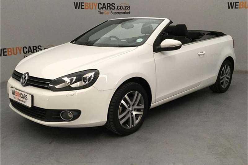 VW Golf cabriolet 1.4TSI Comfortline auto 2014